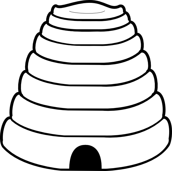 Xna Line Drawing : Picture of beehive clipart best