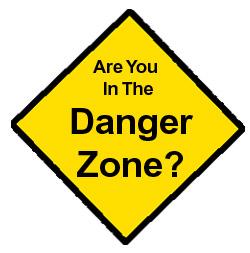danger zone sign   clipart best