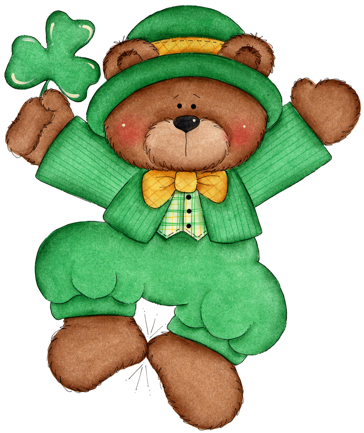 It's just a picture of Dashing Free Printable Clipart for St Patrick's Day