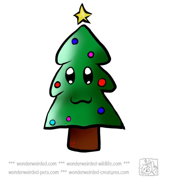 Free Christmas Tree Clipart Xmas Tree with Christmas Star ...