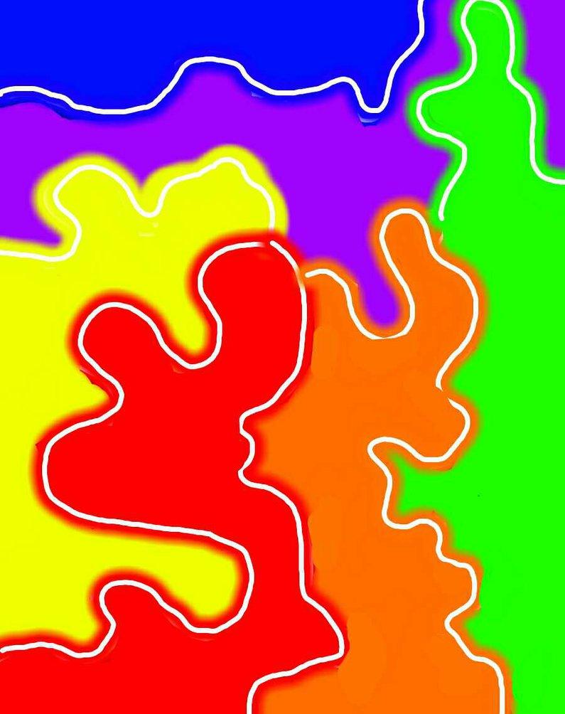 Rainbow Paint Splatter Wallpaper Awesome Rainbow Paint Splatter
