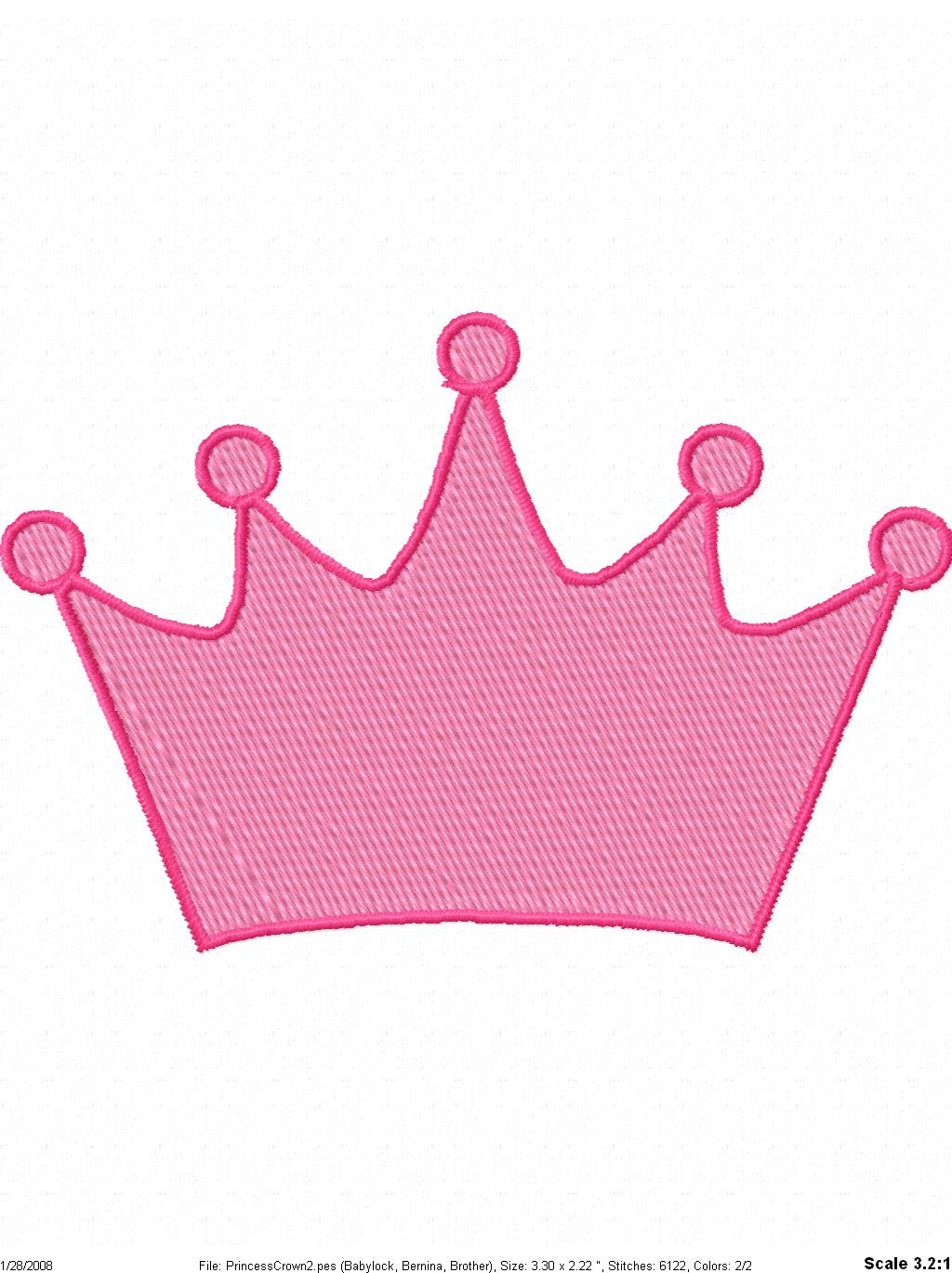 Princess Tiara Template - ClipArt Best