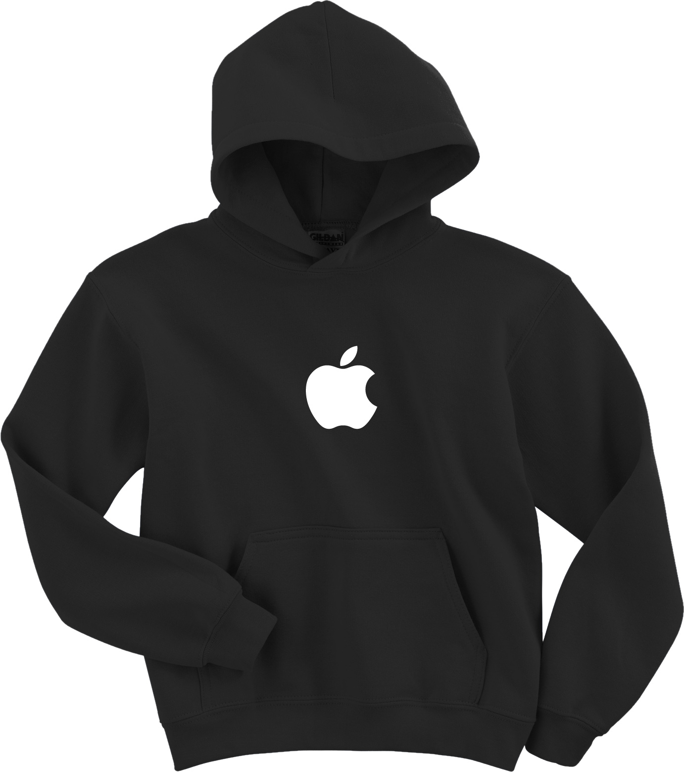 APPLE Hooded Sweatshirt Computer GEEK hoodie Mac logo OSX HOODY ...