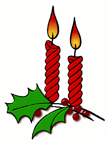 Free Christmas Candles Clipart - Public Domain Christmas clip art ...