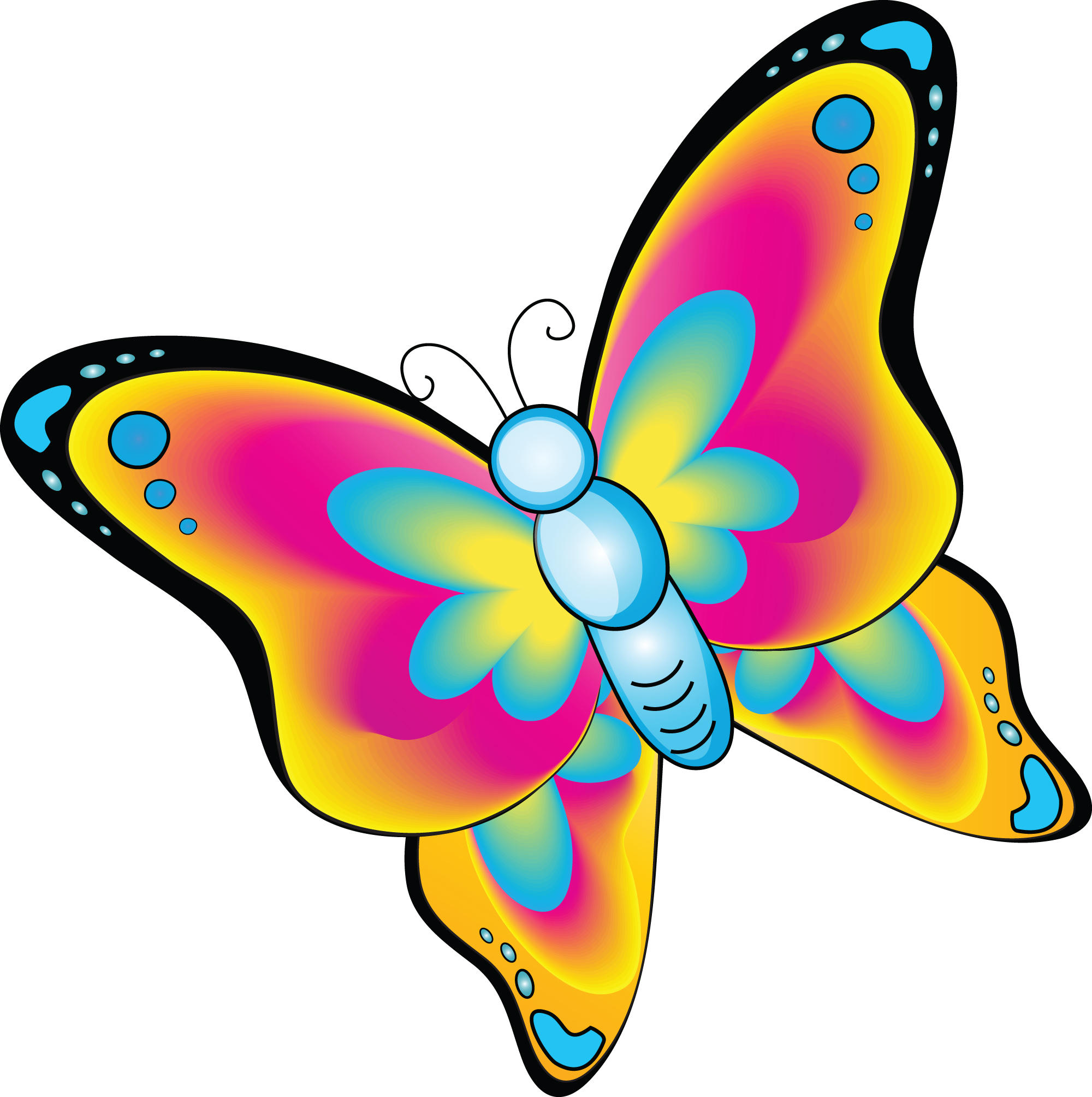 15 cartoon butterfly free cliparts that you can download to you ...