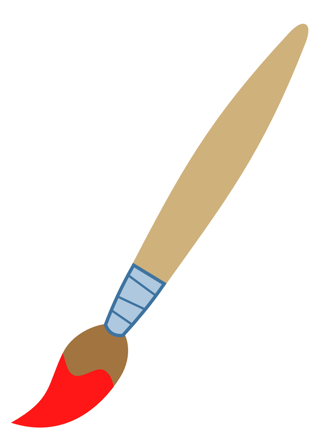 clipart of brush - photo #3