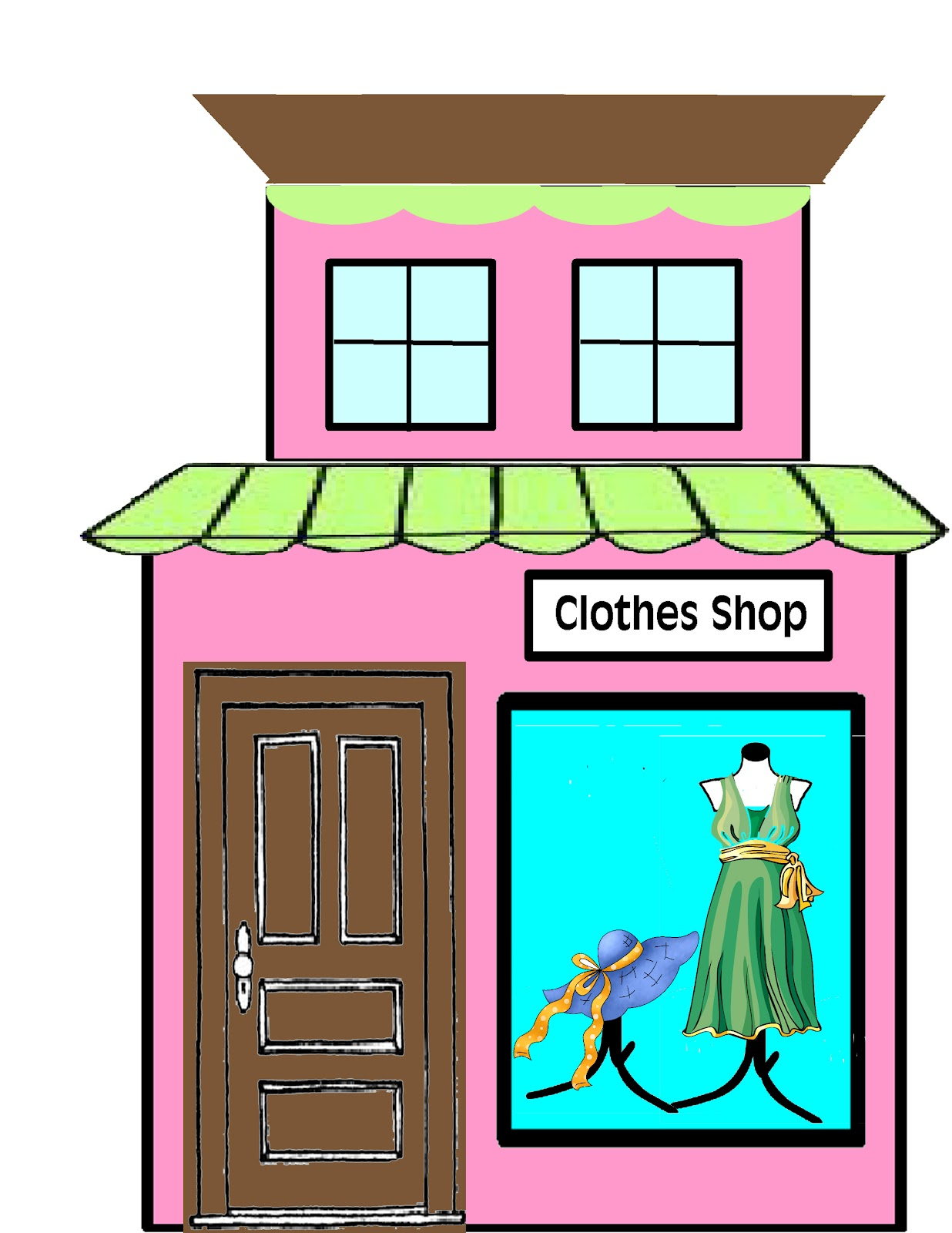 free clipart clothes shopping - photo #39