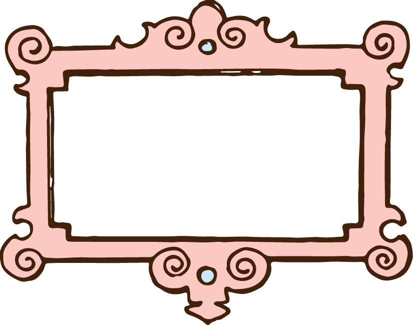 free victorian clip art frames - photo #45