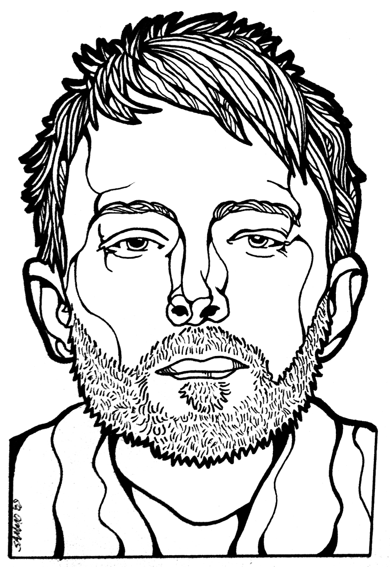 Famous Line Drawing Artists : Line art clipart best