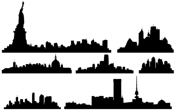 new york city clipart skyline - photo #48