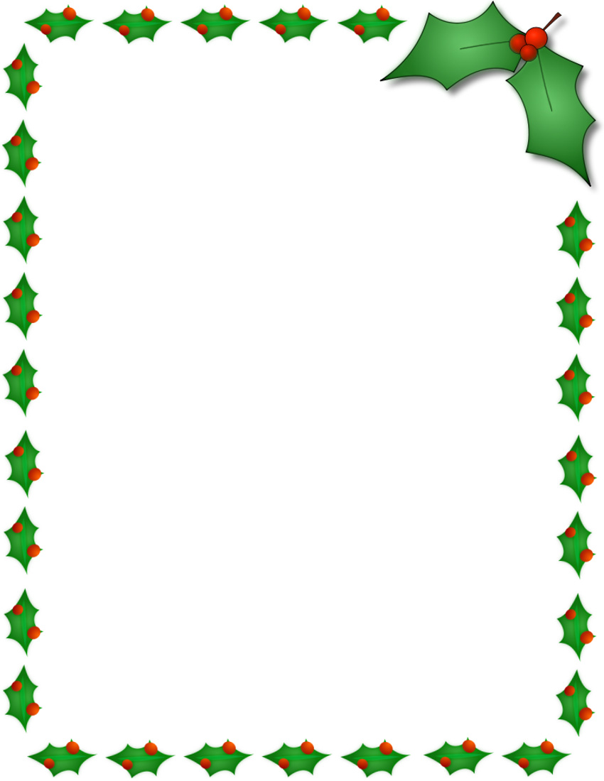 clipart xmas borders - photo #12
