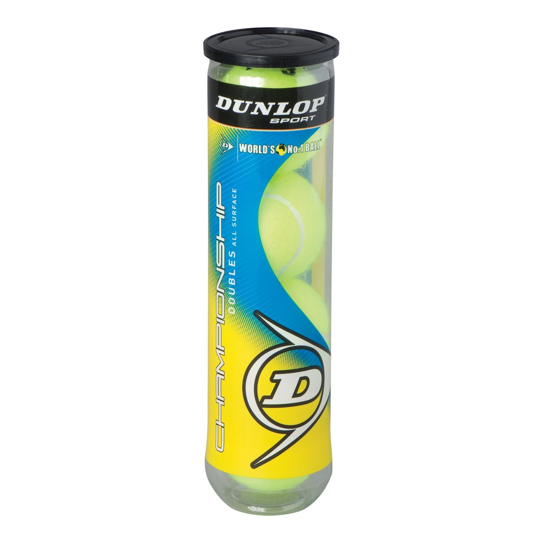 Dunlop Championship Tennis Balls - 4-Ball Can Tennis Balls