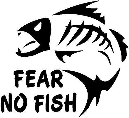 No fish clipart best for Free fishing stickers