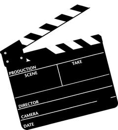 Hollywood Clapper Board - ClipArt Best