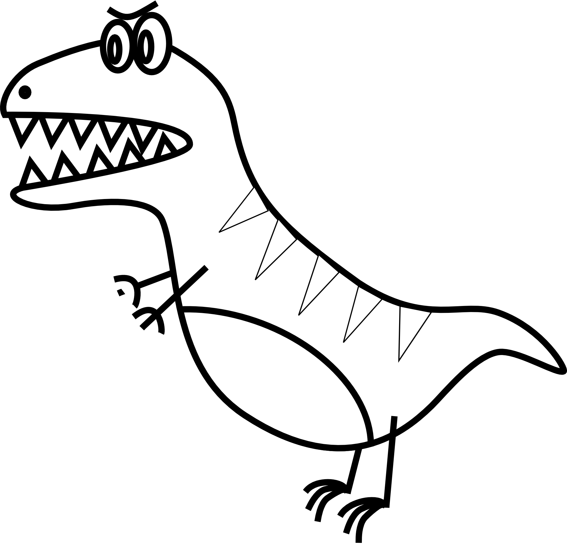 Black And White Line Drawings Of Animals : Simple line drawings of animals clipart best