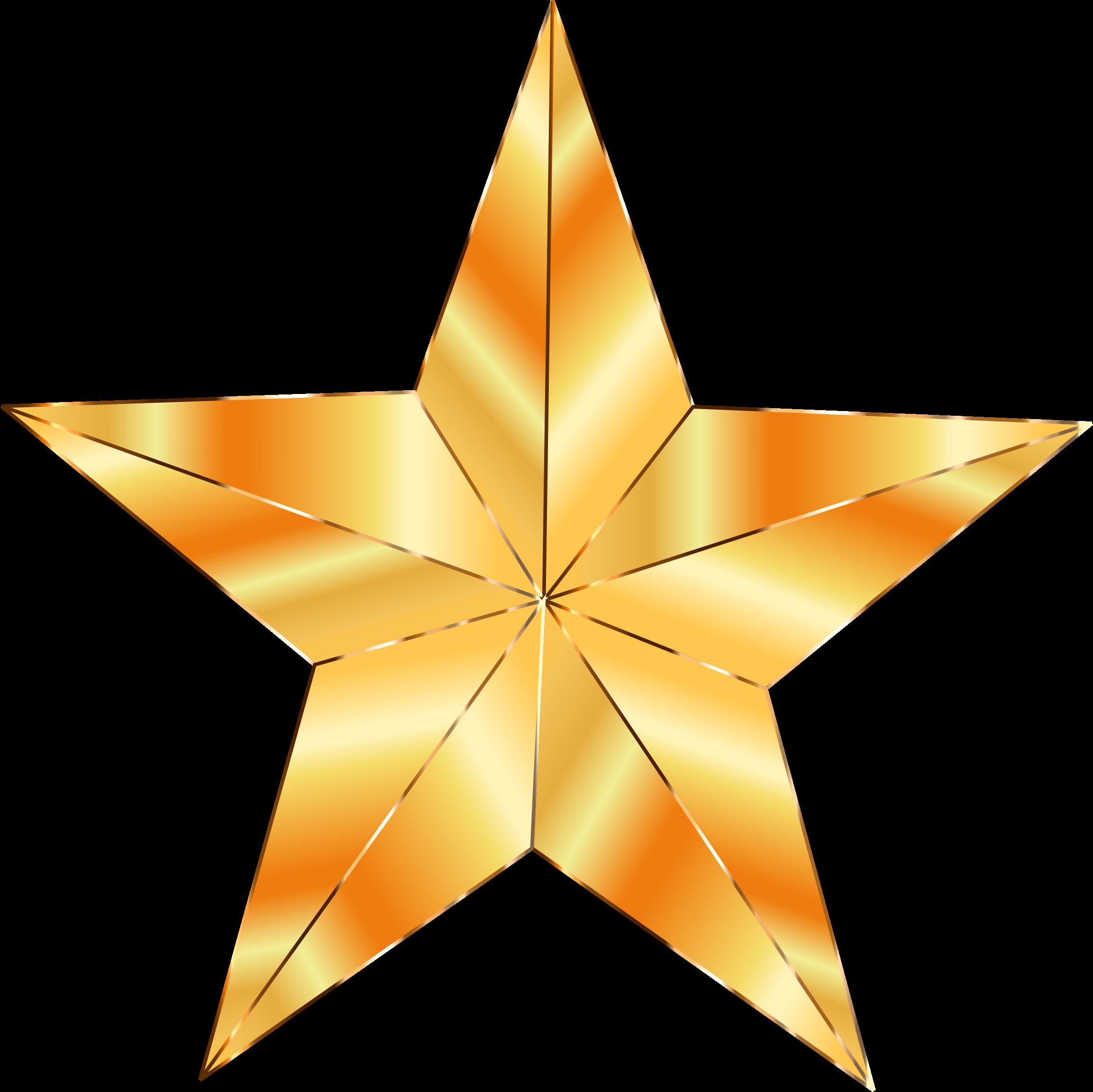 Golden Star Png - ClipArt Best