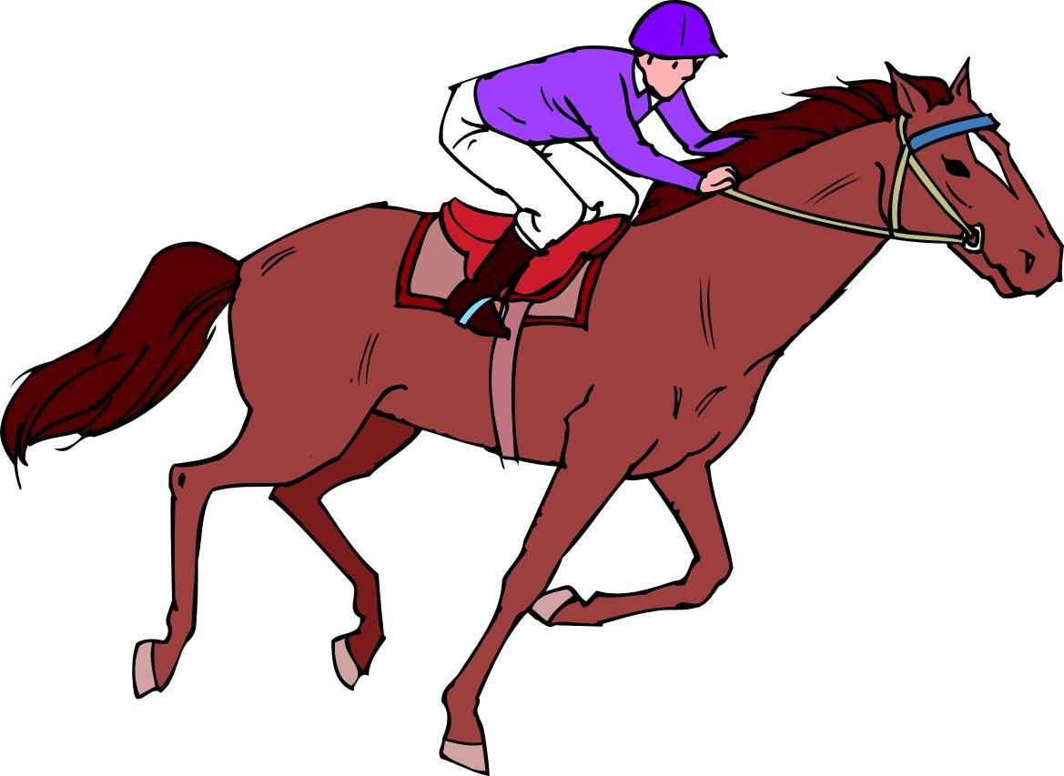clip art girl riding horse - photo #7