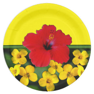 Yellow Hibiscus Hawaii - ClipArt Best
