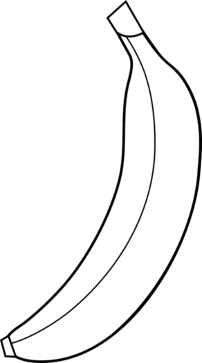 Banana Clip Art Black And White Banana Clip Art...