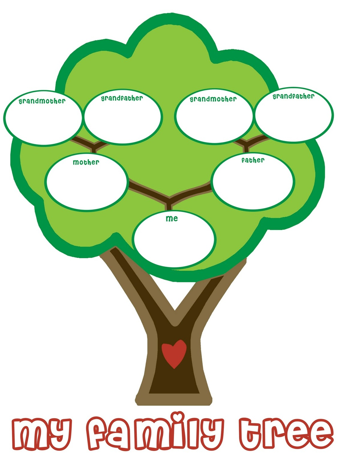 Examples Of Family Tree - ClipArt Best