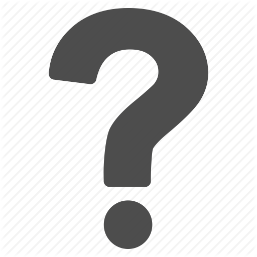 Question logo png