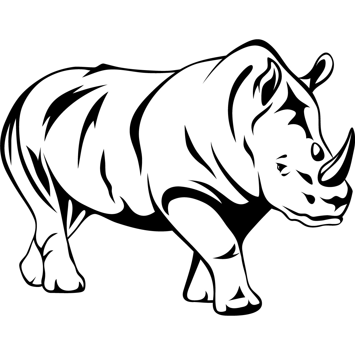 Line Drawings Animals Wildlife : Animal line drawings clipart best