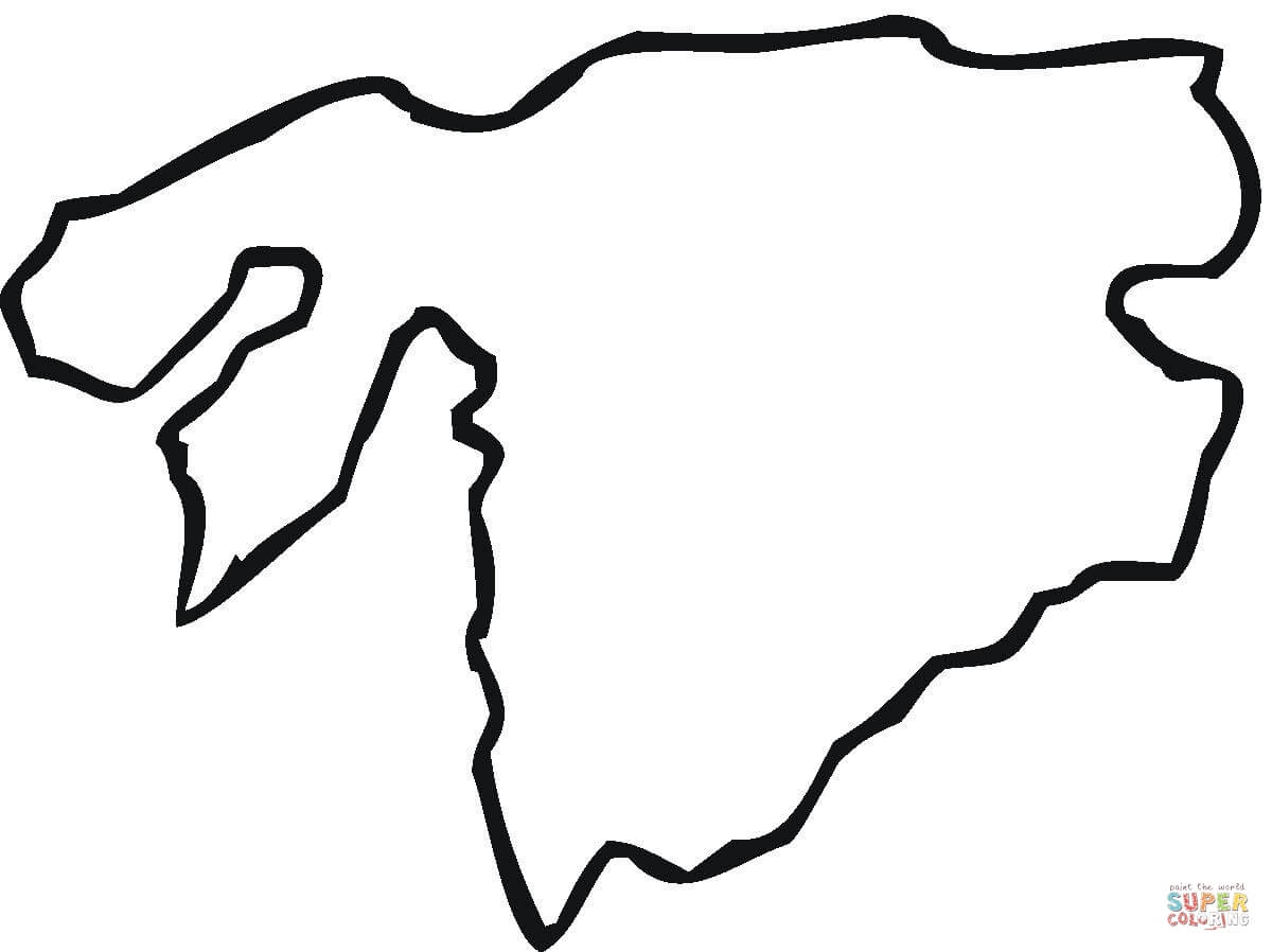 Clip Art Antarctica Coloring Pages free printable map of antarctica clipart best africa coloring page pages