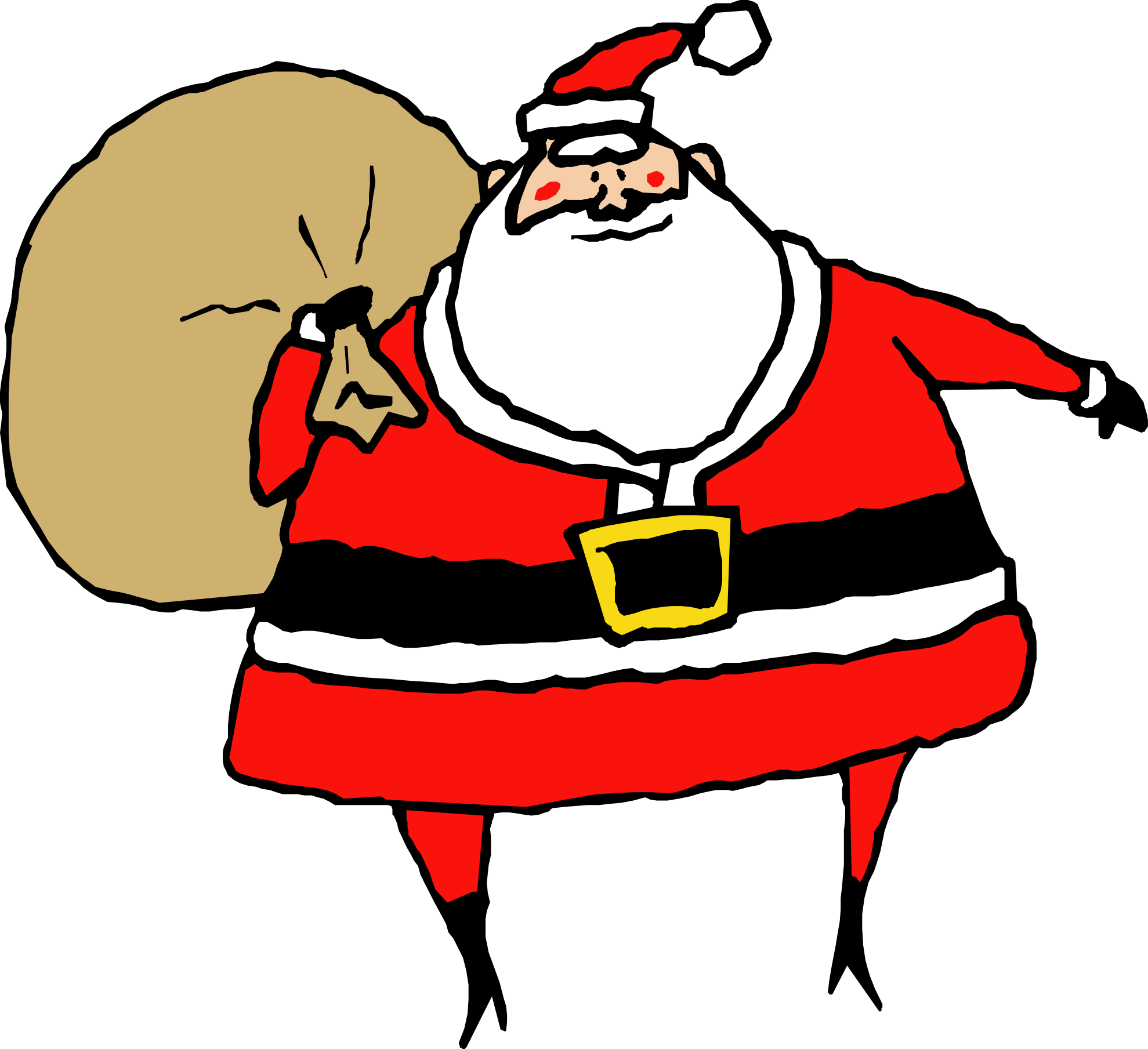 32 santa clip art . Free cliparts that you can download to you ...