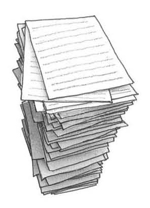 paper stack clipart - photo #14