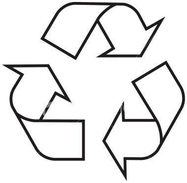 Recycling Symbol Outline Clip Art Vector Clip Art Online ...