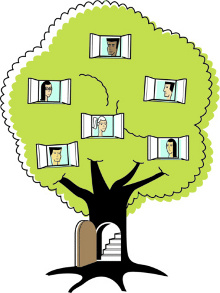 Family Tree Example For Kids Clipart Best