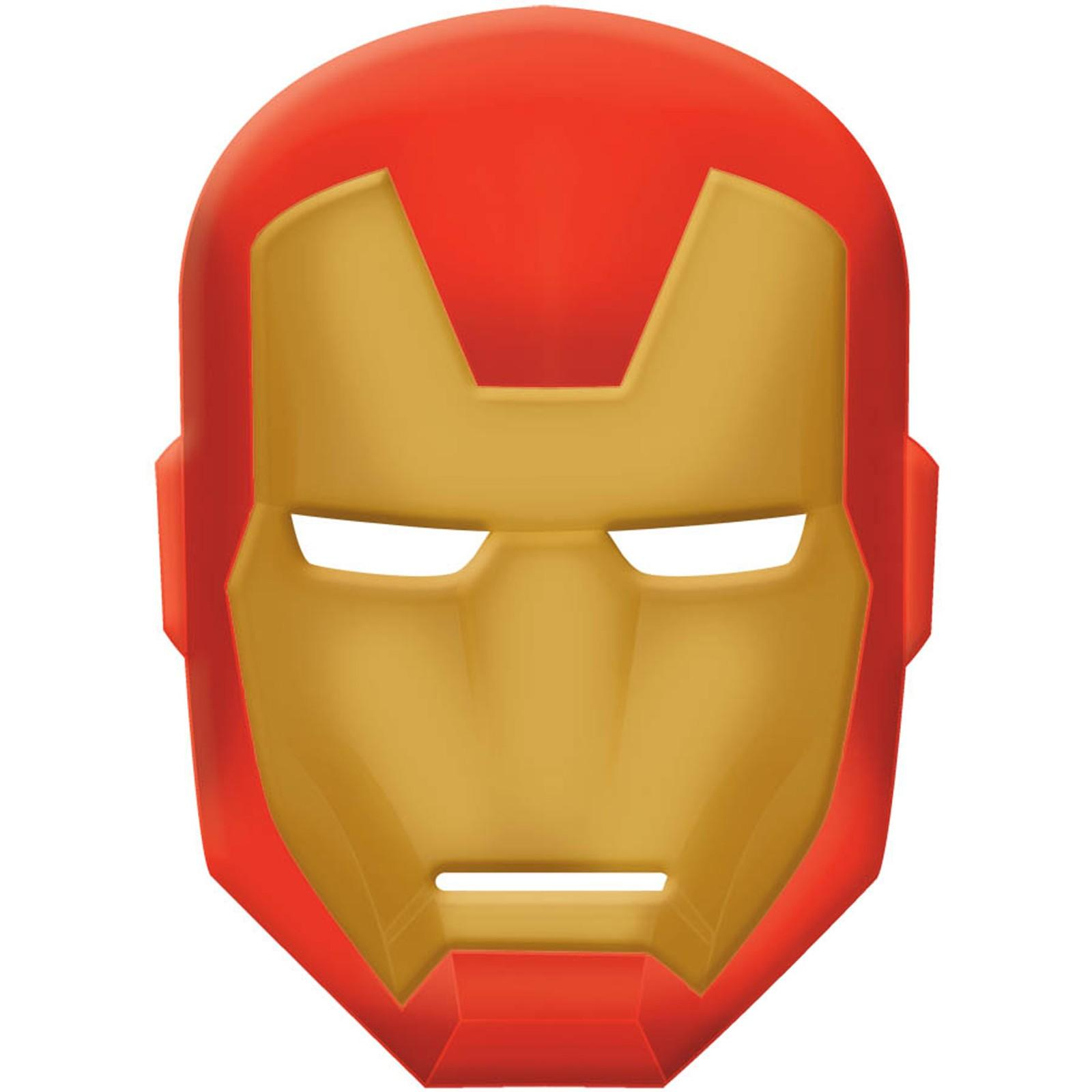 Ironman template clipart best for Avengers mask template