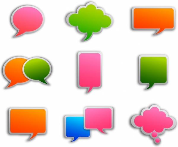 people with speech bubbles clipart best thought bubble clip art animation thought bubble clip art for android