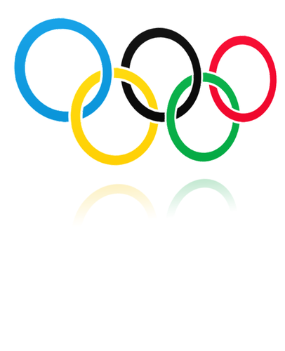 olympic rings black and white clipart best