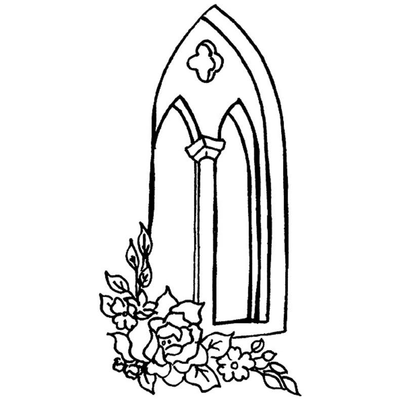 Church Window Drawings Impressions Church Windows