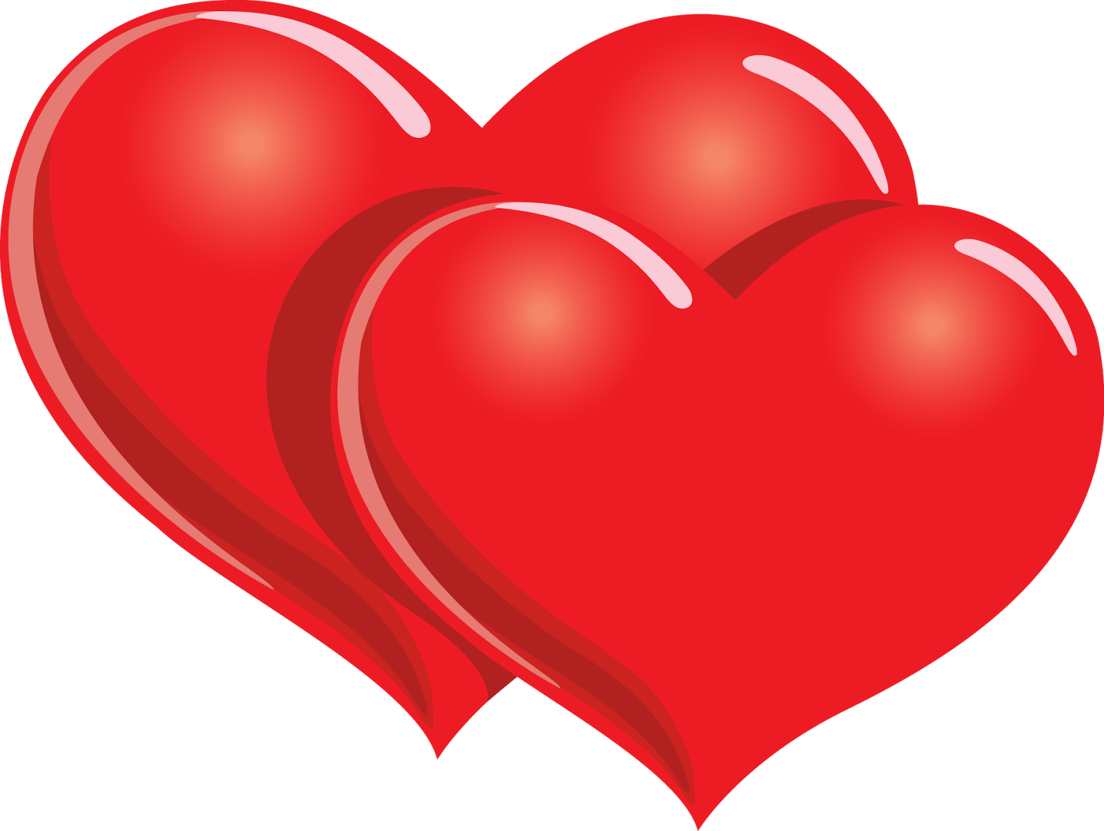 double red heart logo