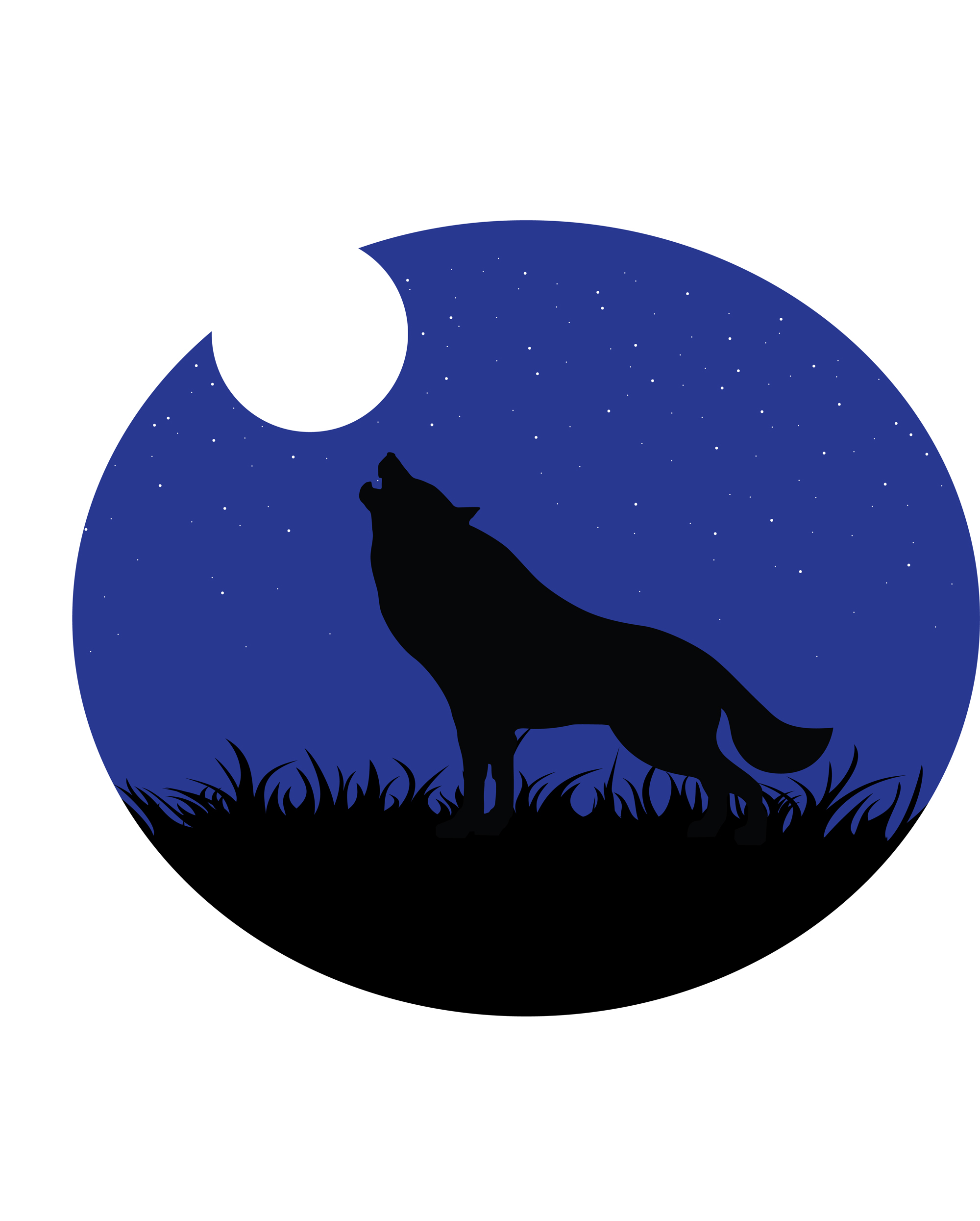 wolf howling at the moon free cliparts that you can download to you ...