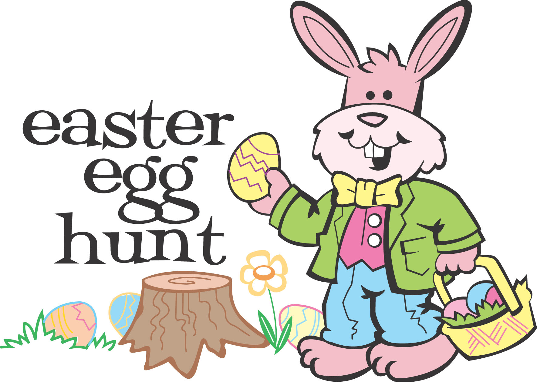 Image result for easter egg hunt clip art