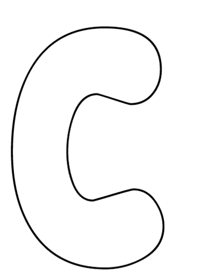 Clip Art Bubble Letters