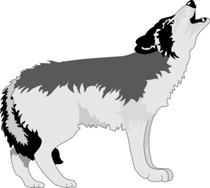 Wolves Clip Art Images Stock Photos