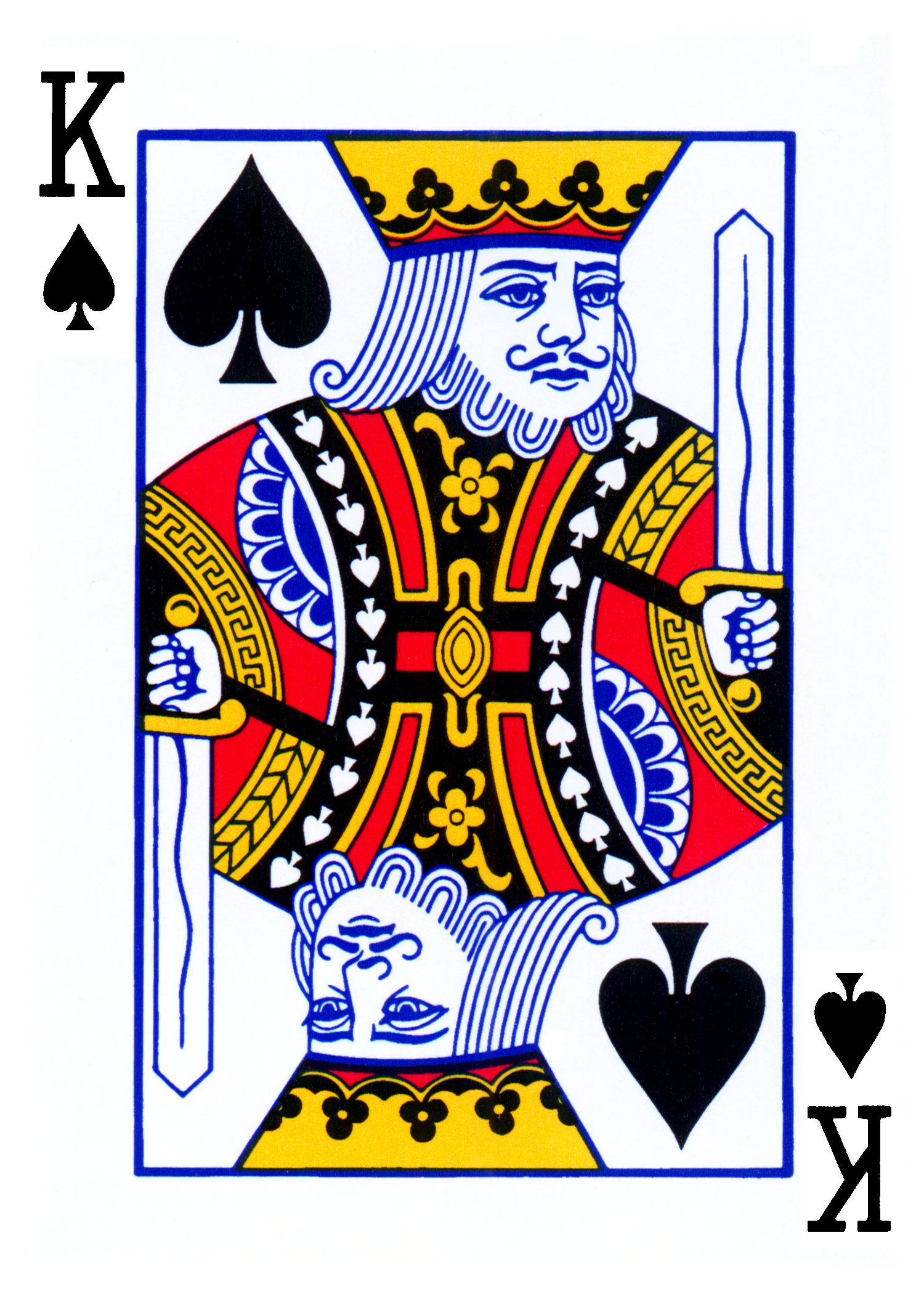 Line Art Card Design : Playing card picture clipart best