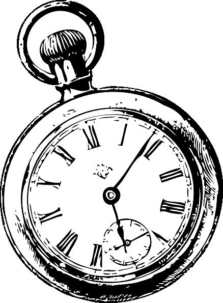 pocket watch clipart - photo #37