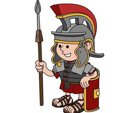 Roman Soldier Cartoon - ClipArt Best
