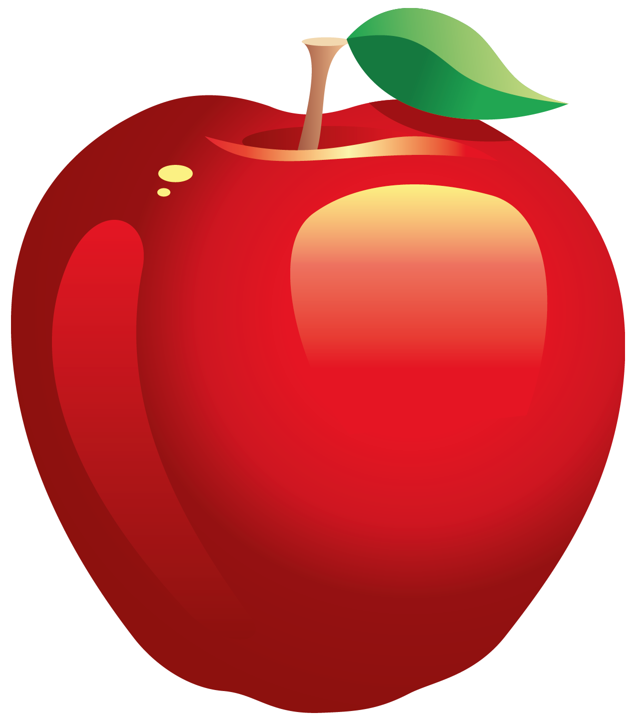 Red Apple - ClipArt Best