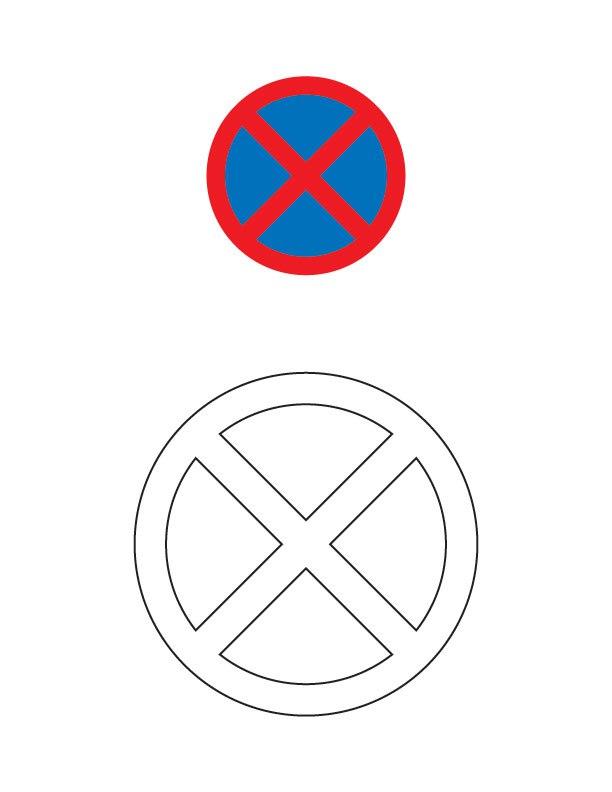 stop sign coloring page stop sign coloring page free printable - Stop Sign Coloring Page Printable