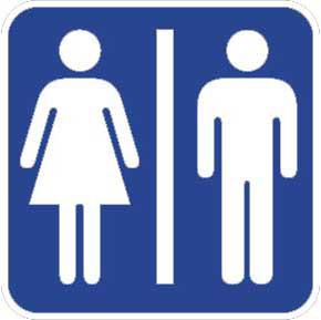lambang toilet wanita clipart best