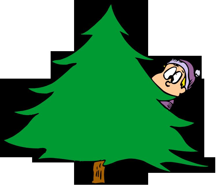 Christmas Tree Plain - ClipArt Best