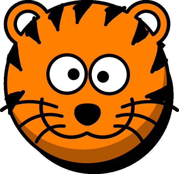 Cartoon Tiger Face - ClipArt Best