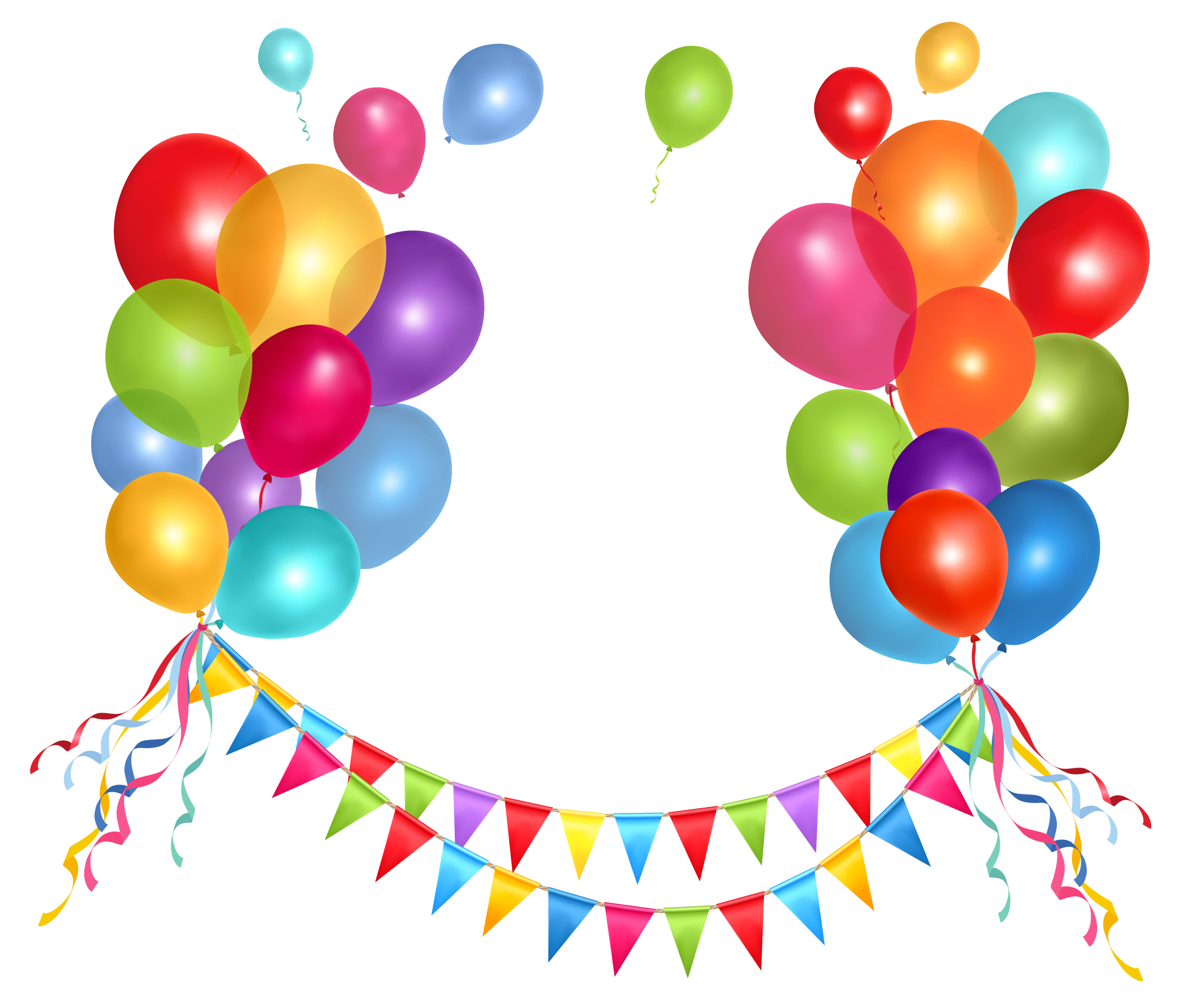 Party Balloons Png - ClipArt Best