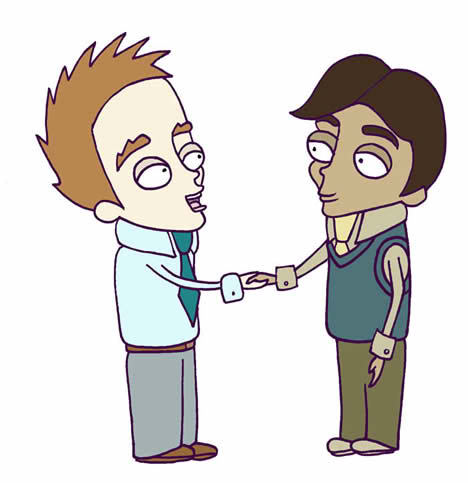 handshake cartoon image free cliparts that you can download to you ...